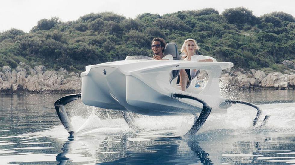 Vuela sobre el agua con esta nueva embarcación eléctrica - 1