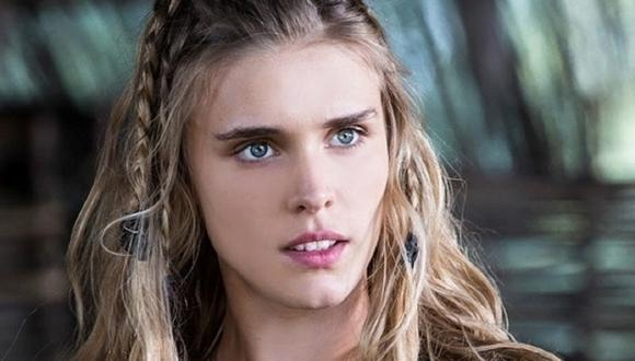 "Gaia Weiss interpretó a Porunn hasta la tercera temporada de ""Vikings"" (Foto: History Channel)"