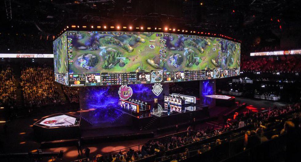La final del campeonato mundial de League of Legends se realizó el 10 de noviembre de 2019 en el AccorHotels Arena de París. (Foto: AFP)