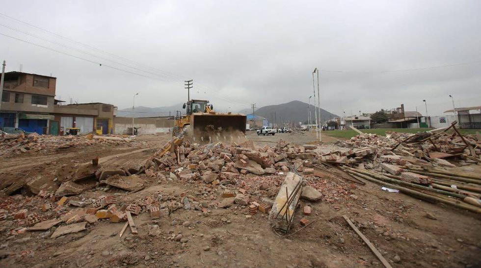 Santa Anita: muro que ocupaba parte de la pista fue derrumbado - 4