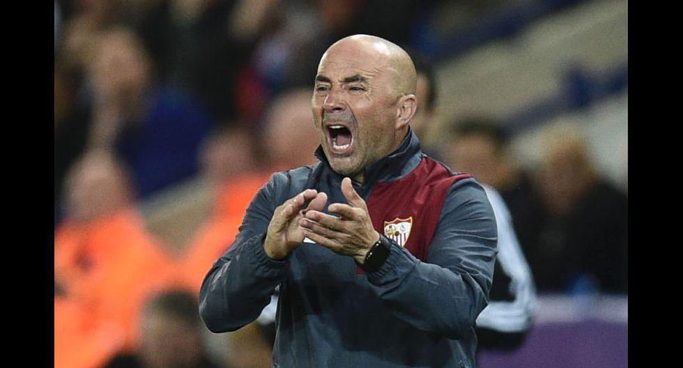 Así vivió Sampaoli la eliminación del Sevilla en Champions - 8