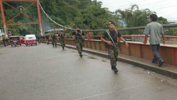 Fuerzas Armadas intervendrán en provincias de Apurímac y Cusco