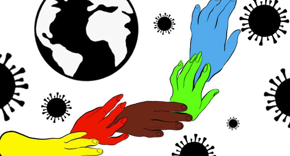 """""""La dura experiencia que estamos pasando podría dar lugar a nuevas formas de organización y comunidad"""". (Ilustración: Giovanni Tazza)."""