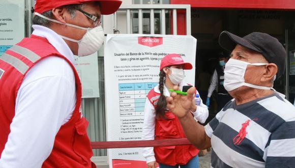 El cobro del subsidio es mediante agentes autorizados, cajeros automáticos y agencias del Banco de la Nación. (Foto: Andina)