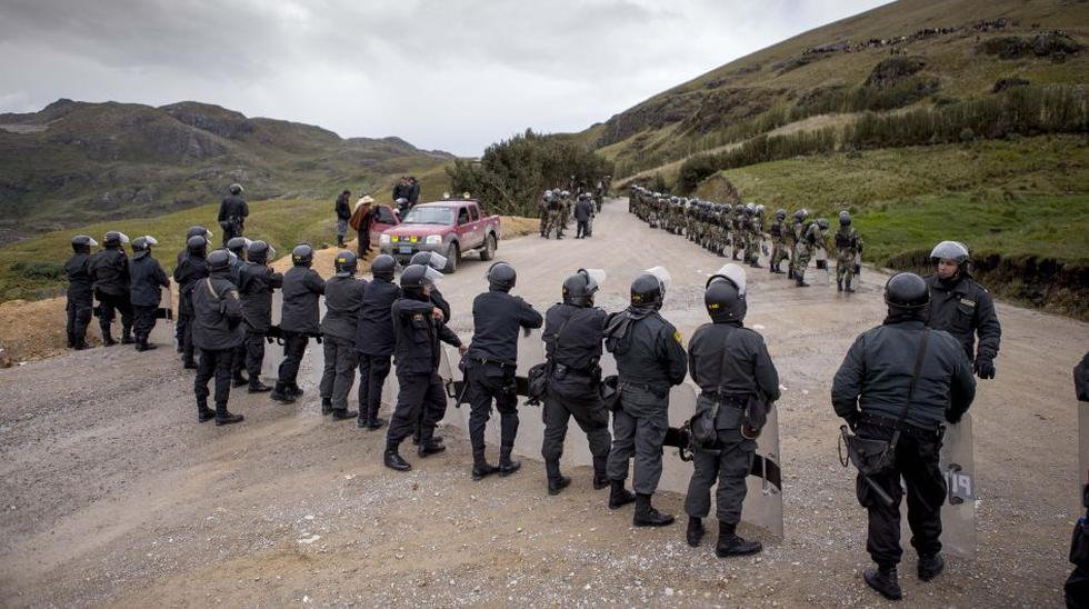 Movilizaciones contra Conga: así se fue el segundo día - 1