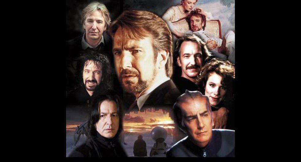 Elogio de Alan Rickman