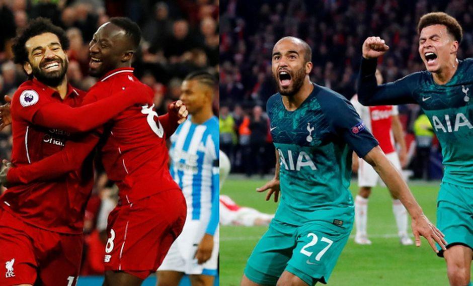 Los finalistas de la Champions League Liverpool y Tottenham no han ganado la Premier League. El Real Madrid y el Barcelona fueron los últimos en lograrlo. (Foto: Reuters)