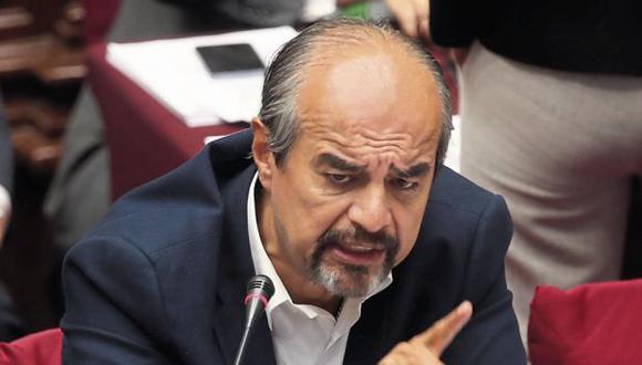 Mauricio Mulder criticó a Martín Vizcarra por pedir que no desnaturalicen proyectos. (Foto: Juan Ponce/ El Comercio)