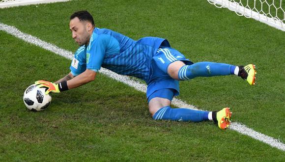 Colombia obtuvo la clasificación a octavos de final del Mundial de Rusia 2018. El golero David Ospina aportó con una formidable atajada. (Foto: AFP)