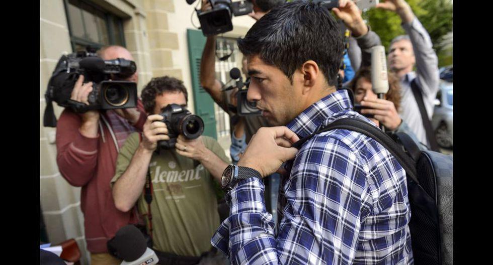 Suárez declaró cinco horas ante el TAS para rebajar su sanción - 3