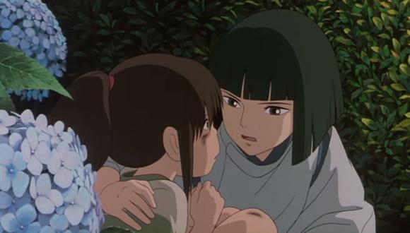 """""""El viaje de Chihiro"""" es una de las cintas más populares y premiadas del Studio Ghibli. (Foto: Captura YouTube)"""