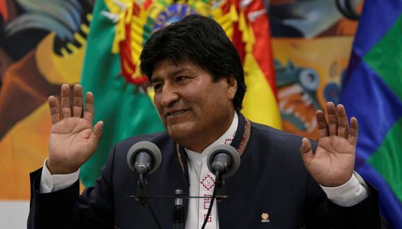 Evo Morales   Bolivia: Estudio realizado por ingenieros refleja una manipulación informática en las votaciones, según Comité de Santa Cruz. Foto: Reuters
