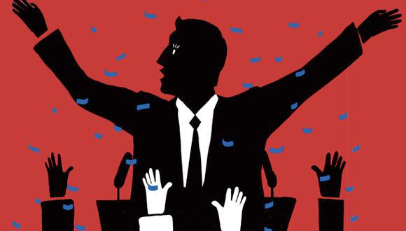 """""""La mala política impidió que nuestros conflictos fuesen resueltos de manera más constructiva y perpetuó medidas insostenibles"""", sostiene Ganoza. (Ilustración: Giovanni Tazza)"""