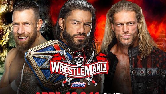 Daniel Bryan vs. Roman Reigns vs.Edge, la lucha más esperada este año en WrestleMania 37 (WWE)
