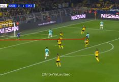 Borussia Dortmund vs. Inter de Milán: Vecino sacó genial remate para el 2-0 de los italianos en Champions League | VIDEO