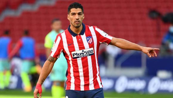 Suárez se ha convertido en pieza clave para Atlético de Madrid tras ser declarado prescindible por Ronald Koeman. (Foto: AFP)