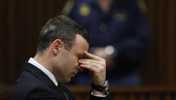 Pistorius tiene tendencias suicidas desde que murió su novia