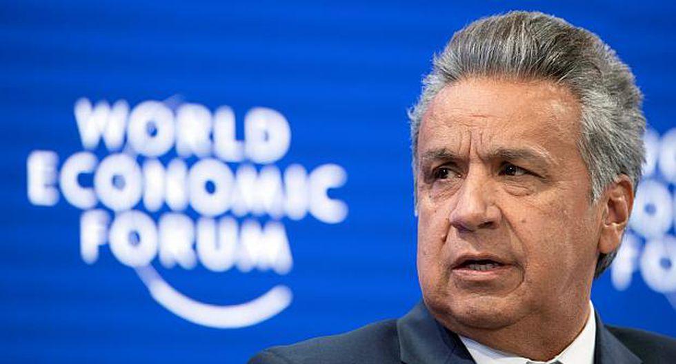 Lenín Moreno, presidente de Ecuador. (Foto: EFE)