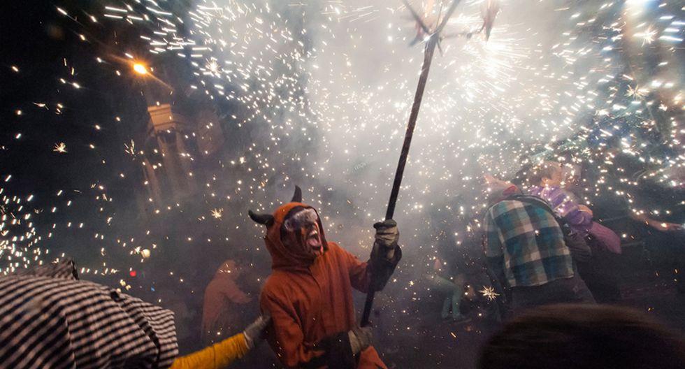 Disfruta del colorido festival de La Mercé en Barcelona - 3