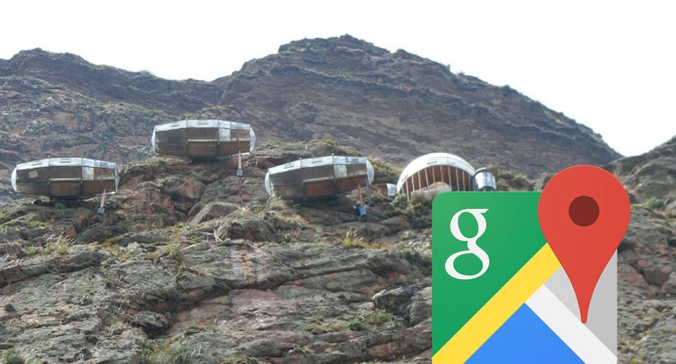 ¿Dónde queda el hotel colgante de Cusco? Google Maps te brinda una visita. (Foto: Google)