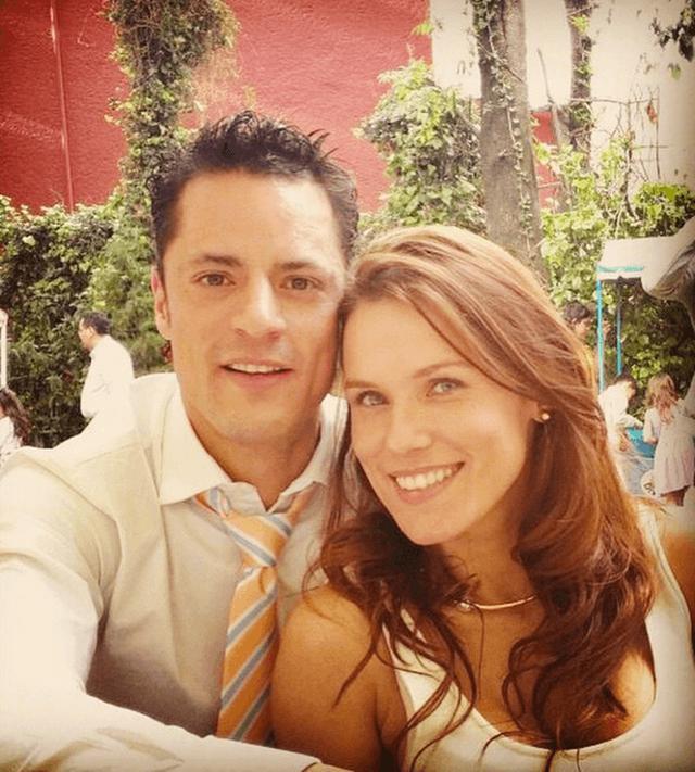 Mike Biaggio y su esposa Gloria Sierra (Foto: Instagram)