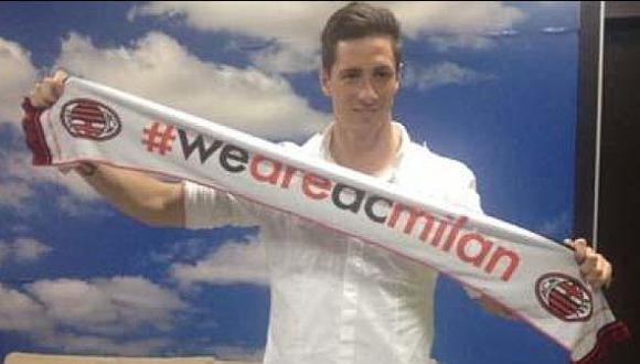Fernando Torres llegó a Milán para pasar los exámenes médicos