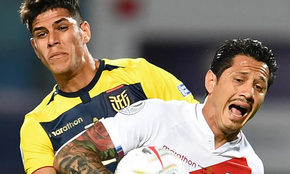 Perú vs. Ecuador por Copa América 2021 Foto: AFP