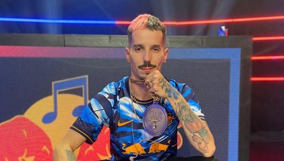 Skone se coronó campeón de la Final Nacional tras vencer en una dura batalla a Blon (Foto: Red Bull / Instagram)
