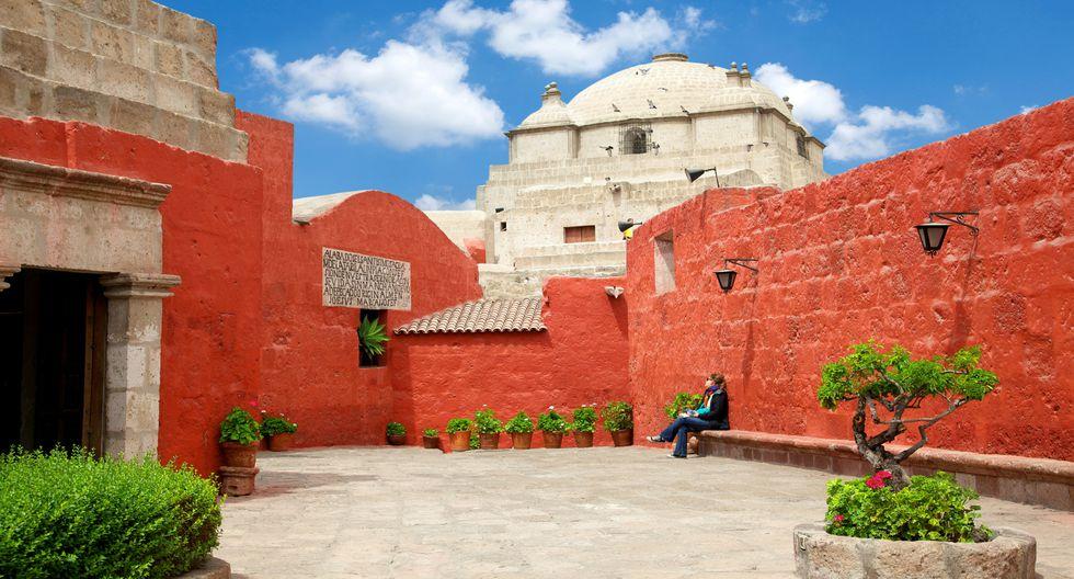 La entrada general al Monasterio de Santa Catalina cuesta S/40. En esta imagen, la plaza Zocodober. Foto: Shutterstock