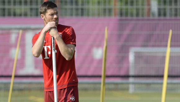 Xabi Alonso no descarta convertirse en entrenador tras retiro