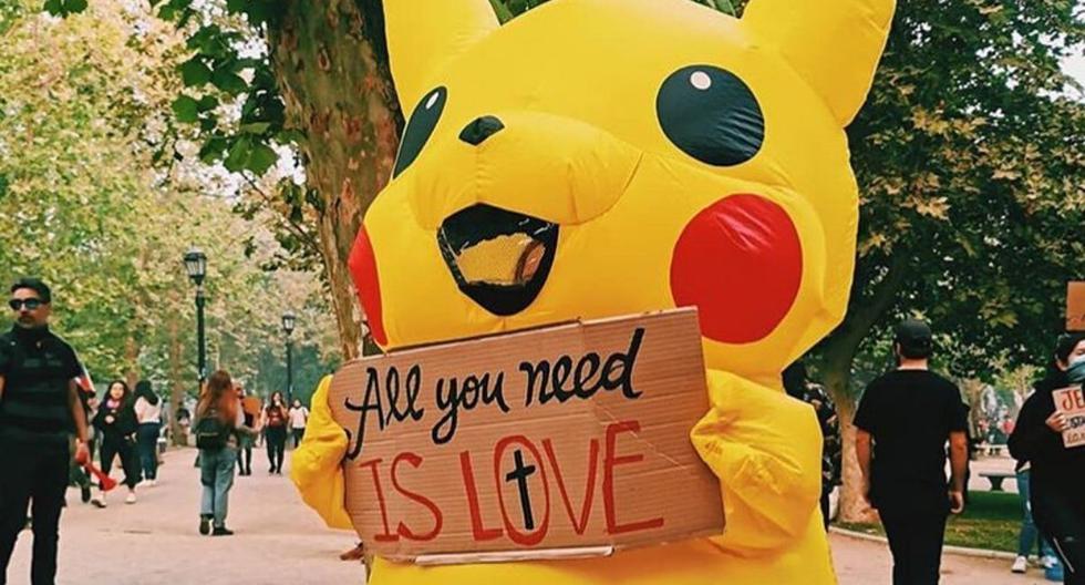 Aquí podemos ver a 'Pikachu' durante una concentración reciente. (@bailapikachu.oficial)