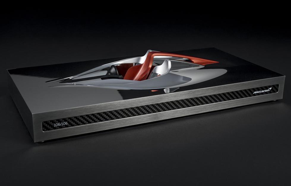 En promedio, cada una de las esculturas de McLaren requiere de 130 horas de trabajo. (Fotos: McLaren).