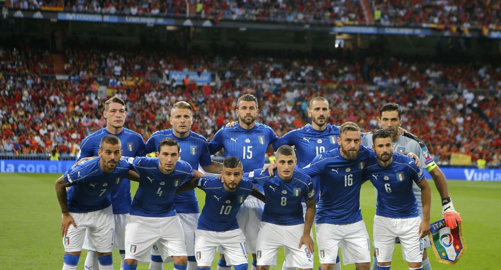 17. Italia - 1035 puntos (Foto: Agencias)