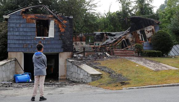 Massachusetts: Explosiones de gas e incendios dejan un muerto y 25 heridos (Foto: Reuters)
