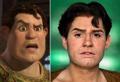 Conoce al 'Shrek humano' que ha dejado a miles de usuarios impactados