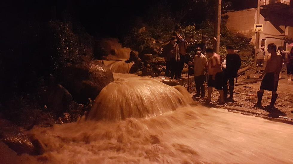 Piura: 30 familias damnificadas por activación de quebrada en Ayabaca. (Foto: cortesía)