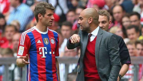 Pep Guardiola y la llamativa declaración de Thomas Müller