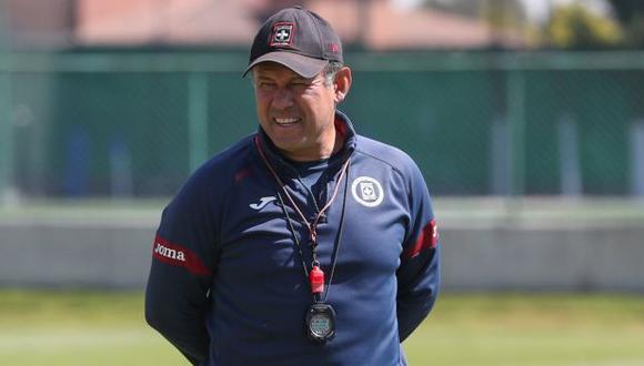 Juan Reynoso tiene 12 victorias consecutivas con Cruz Azul en la Liga MX. (Foto: Cruz Azul)