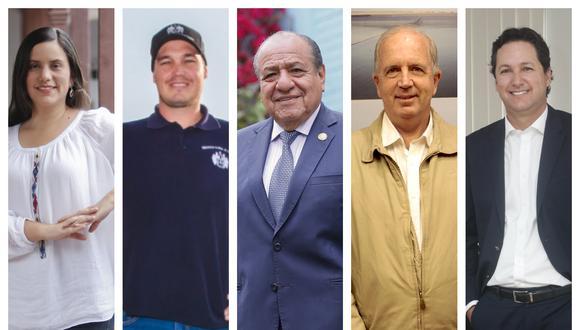 Más de un potencial candidato presidencial ya postuló por otra agrupación política. (Fotos: Manuel Melgar, Diana Chávez y Allen Quintana/ Archivo El Comercio)