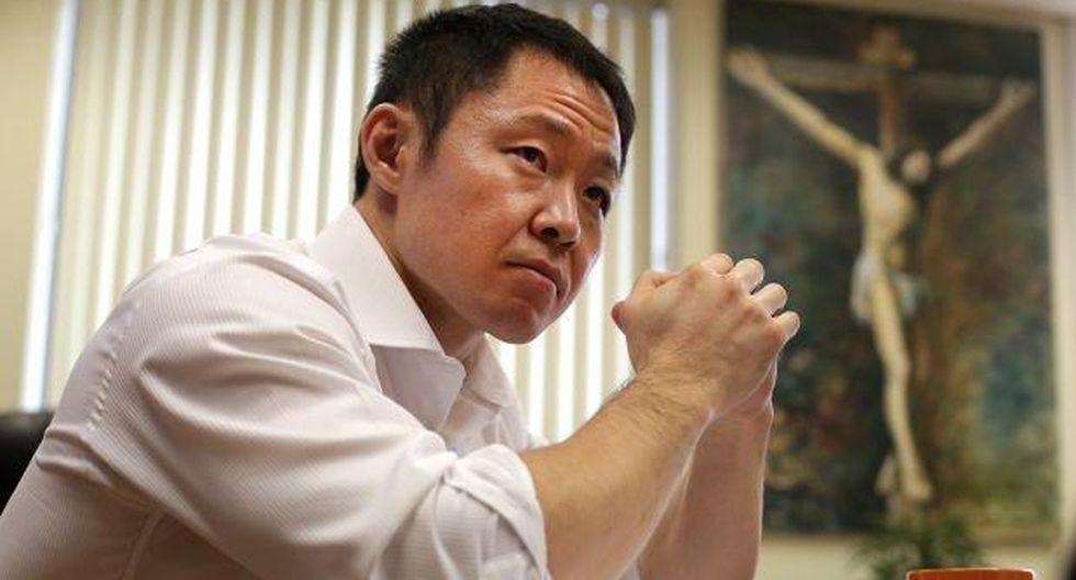 Kenji lamenta que su padre no esté en campaña de Fuerza Popular