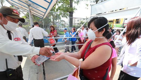 Martín Vizcarra anunció que los casos de coronavirus en Perú han aumentado. (Foto: Lino Chipana / GEC)
