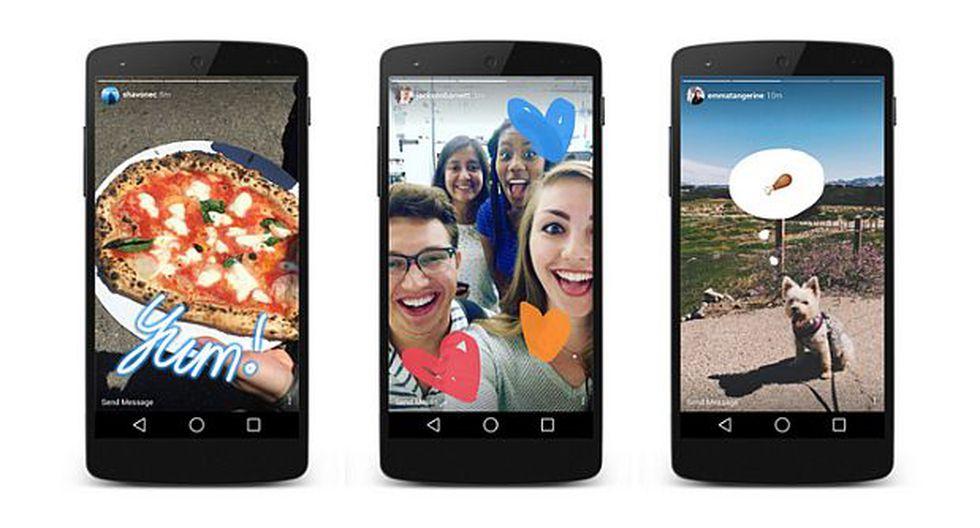 Instagram mejora experiencia de Snapchat con fotos efímeras