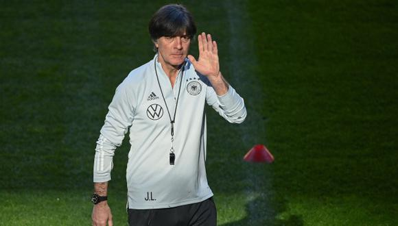Joachim Löw descartó dirigir a Real Madrid o Barcelona. (Foto: AFP)