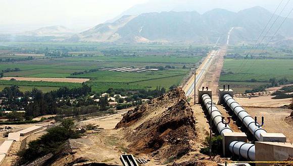 El Gobierno recibió US$150 mlls. para proyecto Chavimochic