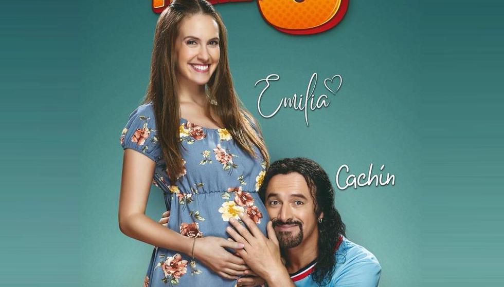 'Cachín' y 'Emilia', protagonistas de la cinta, esperan con ansias la llegada de su bebé. (Foto: Tondero)