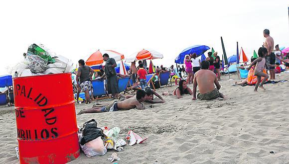¿Cuántas toneladas de basura se recogen de las playas?