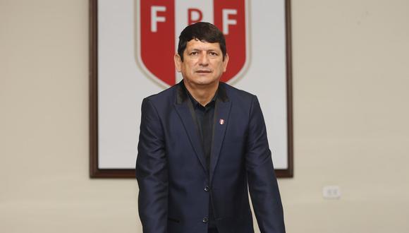 Agustín Lozano asumió la presidencia de la FPF en diciembre del 2018. (Foto: Violeta Ayasta/ GEC)