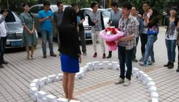 Compró 99 iPhones 6 para proponer matrimonio y lo rechazaron
