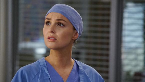 """Camilla Luddington, actriz de """"Grey's Anatomy"""", reveló cómo fue dar a luz durante en medio de la pandemia del COVID-19. (Foto: ABC)"""