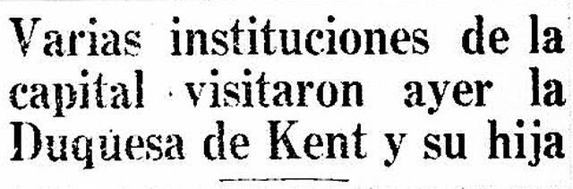 Tanto la duquesa como la princesa de la Realeza Británica no dejaron de visitar distintas entidades de servicio público y de difusión cultural. Tuvieron una agenda nutrida y variada en Lima. (Foto-titular: GEC Archivo Histórico)